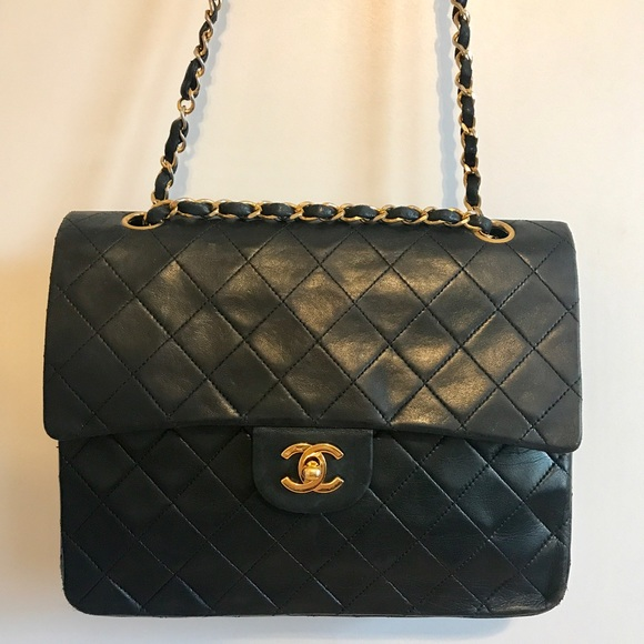 f5f01b80a861 CHANEL Handbags - Authentic Double Flap double chain CHANEL bag